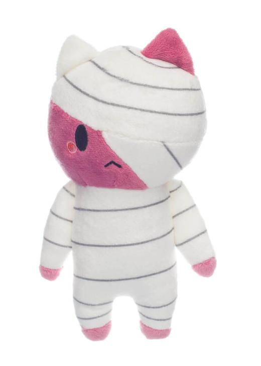 Honeymaru Pink Mummy Cat Twin Plush - Front
