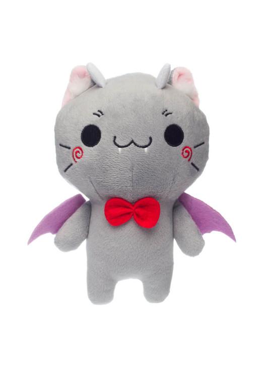 Honeymaru Cat Bat Demon Plush - Front