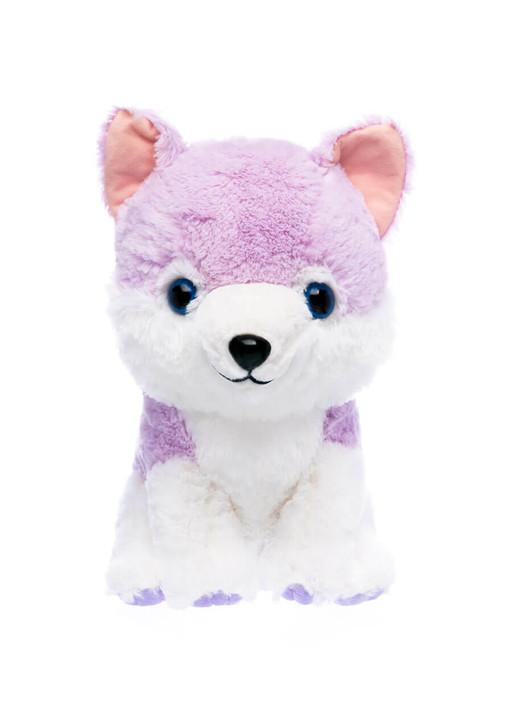 Amuse Lavender Wolf Plush - Front