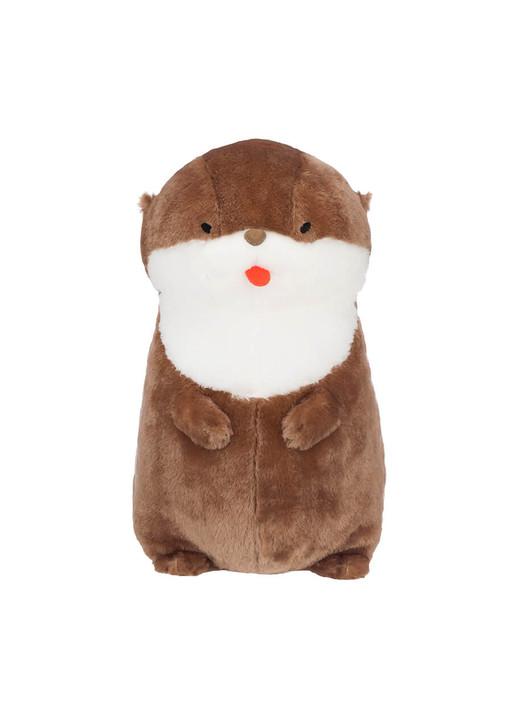 Amuse Kissing Sea Otter Plush - Front
