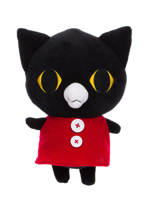 Sentimental Circus KURO The Black Cat Plush Front Angle