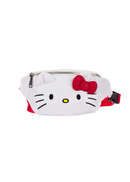 Hello Kitty Face Fanny Pack Front