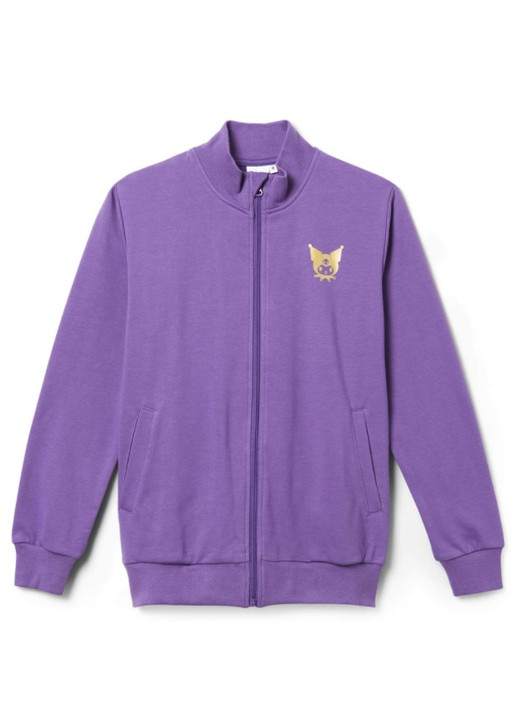 Hello Kitty Kuromi French Terry Jacket - Purple