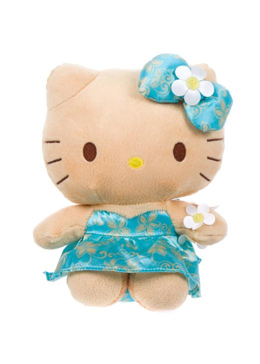 Hello Kitty Tan Melia Plush Front Angle
