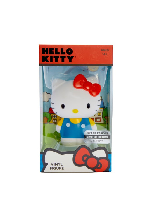 LIMITED EDITION Hello Kitty 1974 to Forever Vinyl Figurine Front Angle