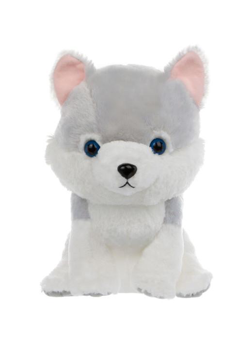 Amuse Uruchan Grey Wolf Plush