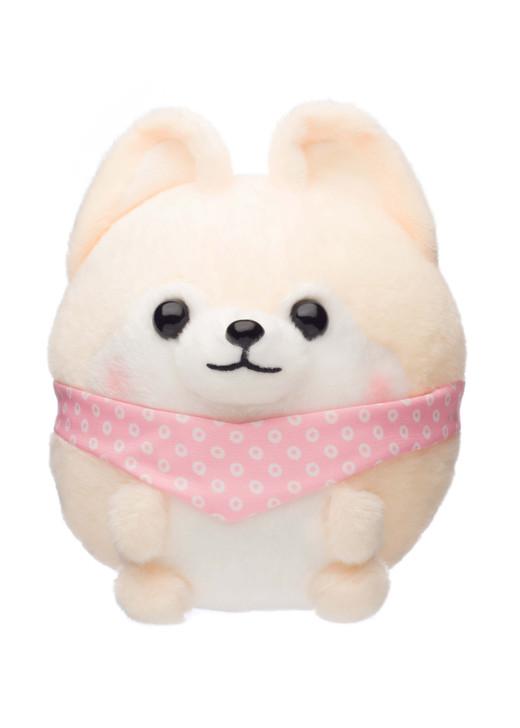 Amuse Rolling Little Shiba Inu Plush - Front