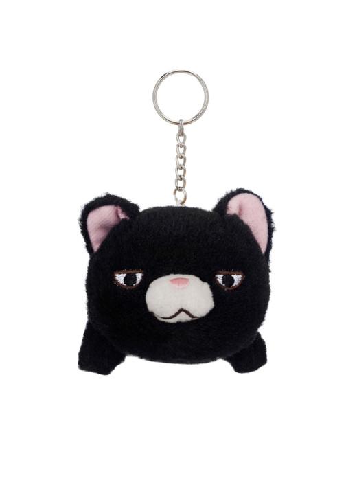 Amuse Mini Narimaki Cat Plush Keychain - Front Angle