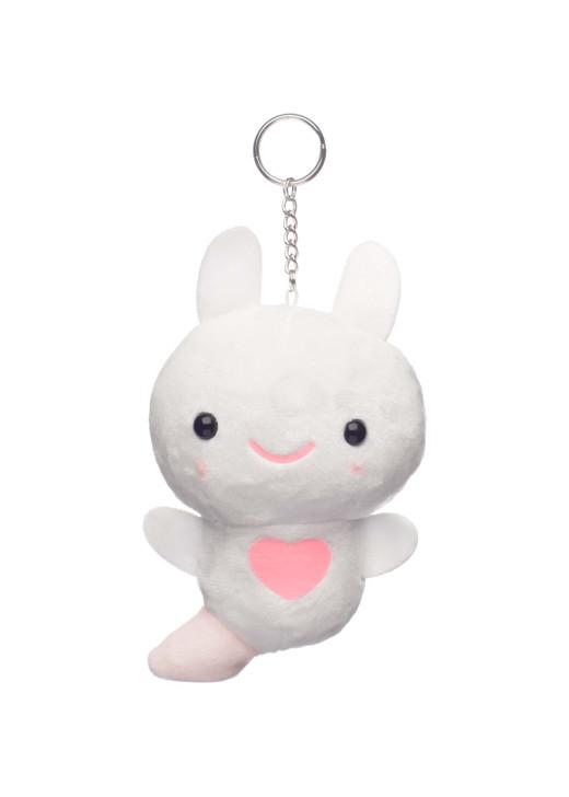Amuse Mini Kurione Sea Angel Plush Keychain Front Angle