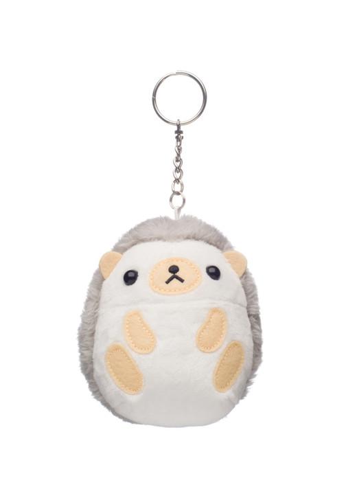 Amuse Mini Harinezumi Hedgehog Plush Keychain Front Angle