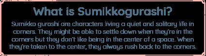 What is sumikko gurashi