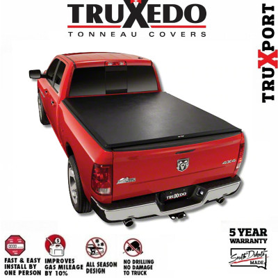 Truxedo Truxport Roll Up Tonneau Cover 1994 2001 Ram 1500 8ft Bed