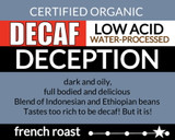 Organic Decaf Deception