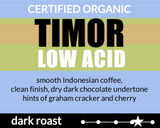 Organic Timor Lower Acid