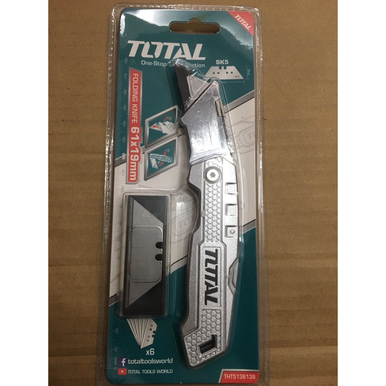 KNIFE FOLDING TOTAL THT5136138 - A. Ally & Sons