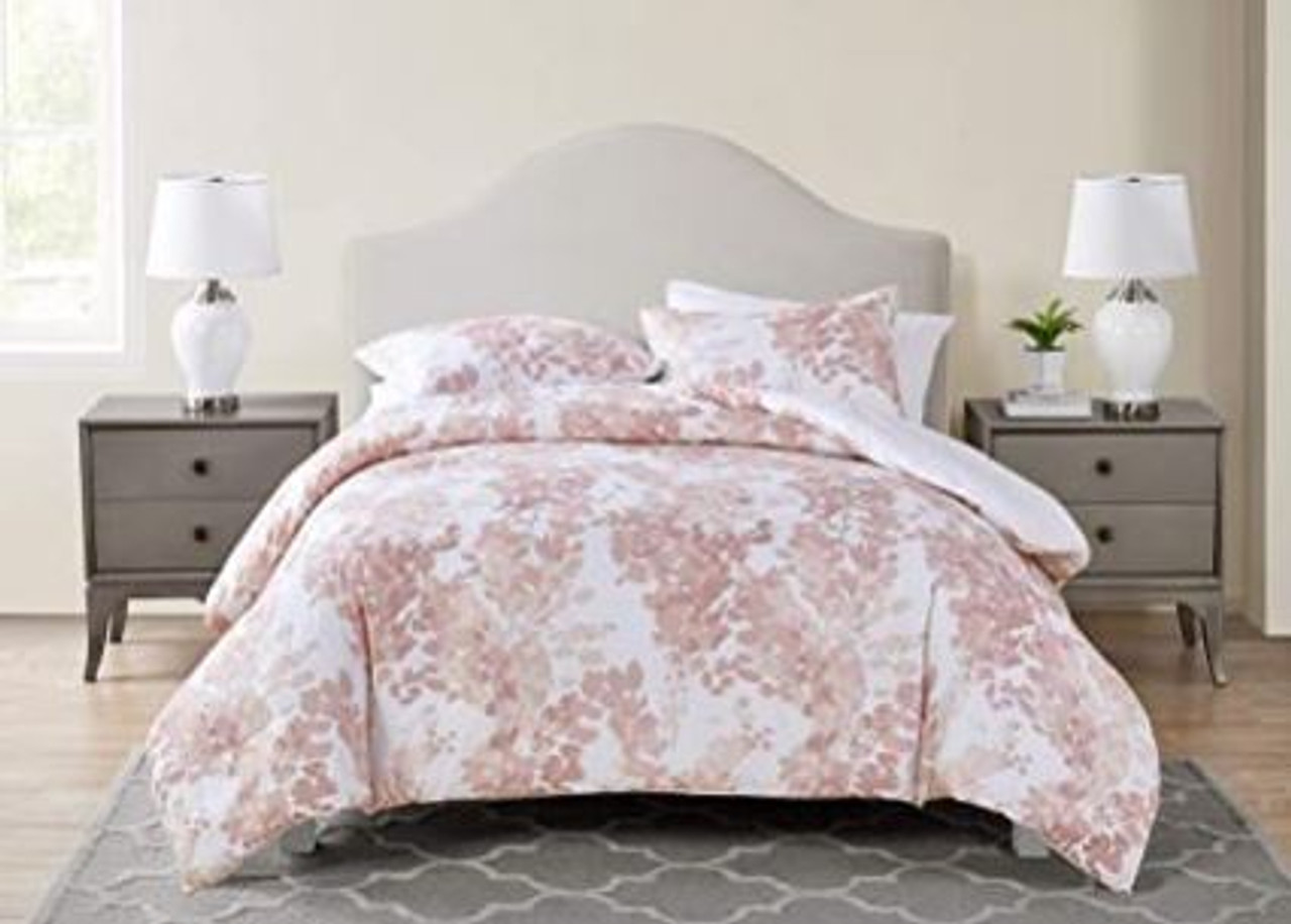 Comforter Set Tahari Sofia Collection Rose King 3pcs Modern A Ally Sons
