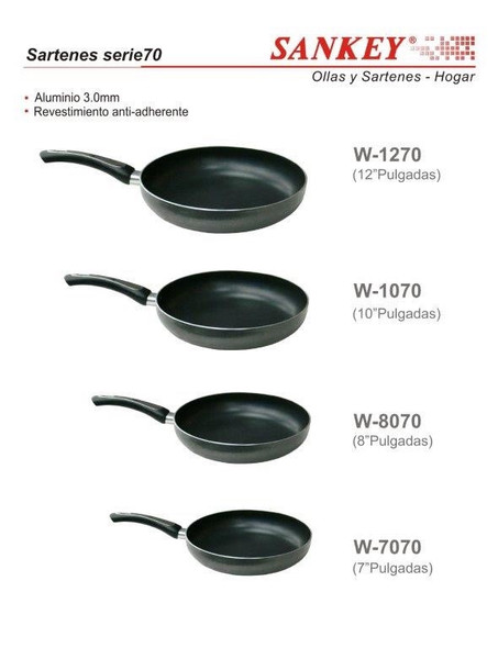 "FRYING PAN SANKEY W-1270 12"" 28CM"
