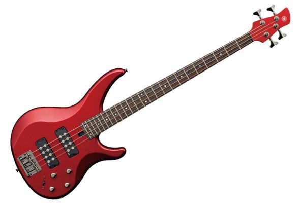 GUITAR YAMAHA BASS TRBX304CAR 4 STRING Candy Apple Red