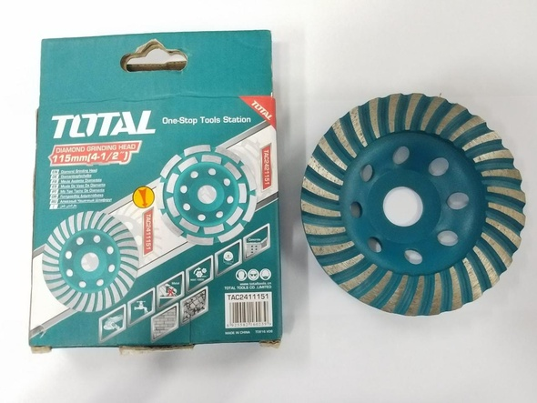 "DISC 4 1/2"" TOTAL TAC2411151 DIAMOND GRINDING"