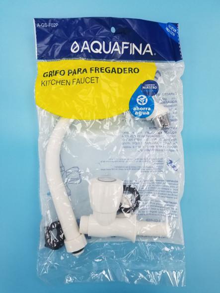 """GOOSE NECK FAUCET 1/2"""" PLASTIC AQUAFINA A-GS-F02P"""