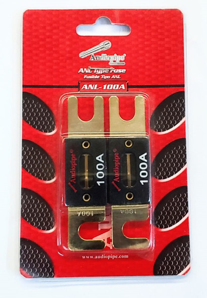 FUSE AUTO GOLD FLAT 100A ANL-100A SOLD EACH