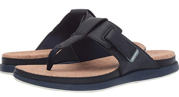 Footwear Clarks Women Step June Reef Flip-Flop Black