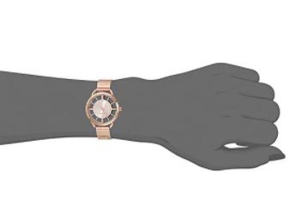 Watch Women Nine West Crystal Accented Bracelet 2534RGRG