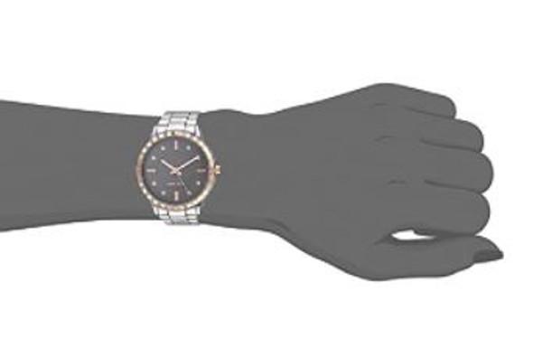 Watch Women Nine West Crystal Accented Bracelet 2283TPRT