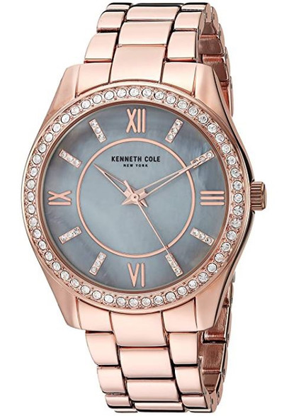 Watch Women Kenneth Cole New York Classic Stainless Steel Analog-Quartz Alloy Strap Rose Gold KC50739001