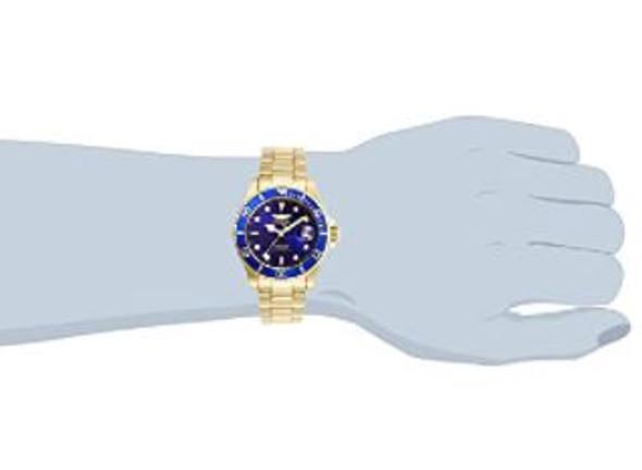 Watch Men Invicta Pro Diver Quartz Stainless Steel Strap Blue dial