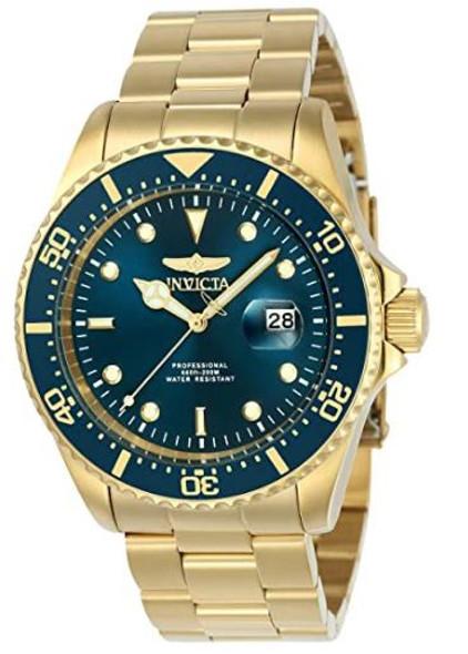 Watch Invicta Pro Diver 43mm Gold Tone Stainless Steel Quartz 23388