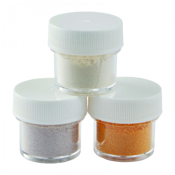 BAKING WILTON Shimmer Dust Pearl, Gold, Silver 3PCS Pack 0.47oz 13.5g 703-212