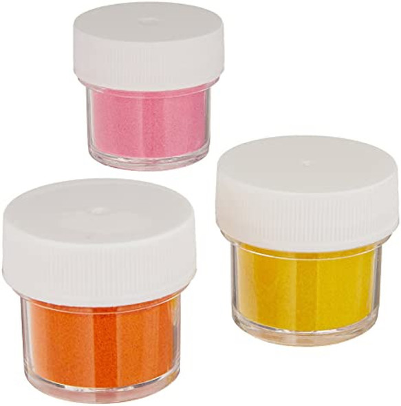 BAKING WILTON Shimmer Dust Pink, Yellow, Orange 3PCS Pack 0.47oz 13.5g 703-211