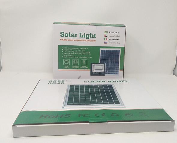 LAMP LED SOLAR FLOOD 100W TGD-8860-8840 WITH SOLAR PANEL