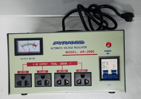 VOLTAGE REGULATOR AR-2000W PYRAMID
