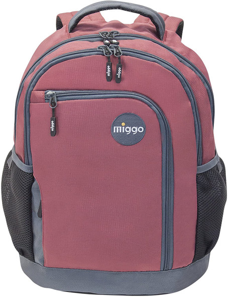 COMPUTER LAPTOP BACKPACK MIGGO RED MBPS-104-RD