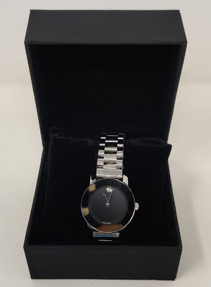 Watch Fashion Generic Women Silver With Metal Strap Broad