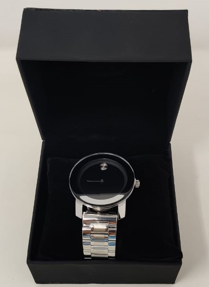 Watch Fashion Generic Men Silver With Metal Strap Broad
