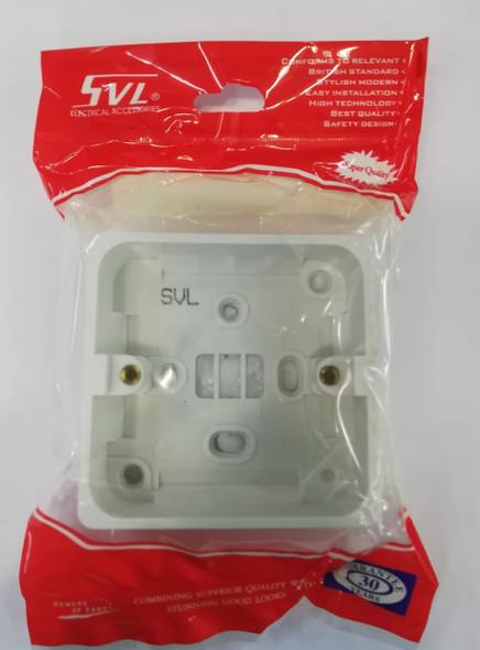 """BASE PVC 3"""" X 3"""" SVL"""