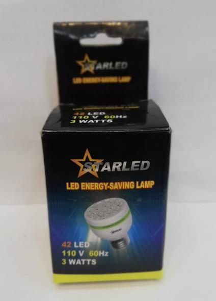 BULB ENERGY STARLED 110V 3W 42 LED #SL-88869