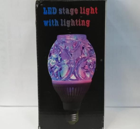 BULB LED MUSIC 5W STAGE LIGHTING W/REMOTE
