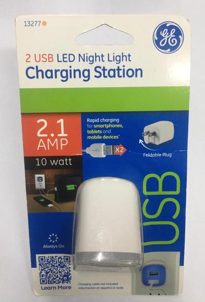 USB CHARGING STATION G.E W/ LIGHT LED 13277