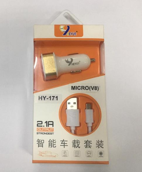 CHARGER USB ADAPTOR HEYU HY-171 2.1A MICRO