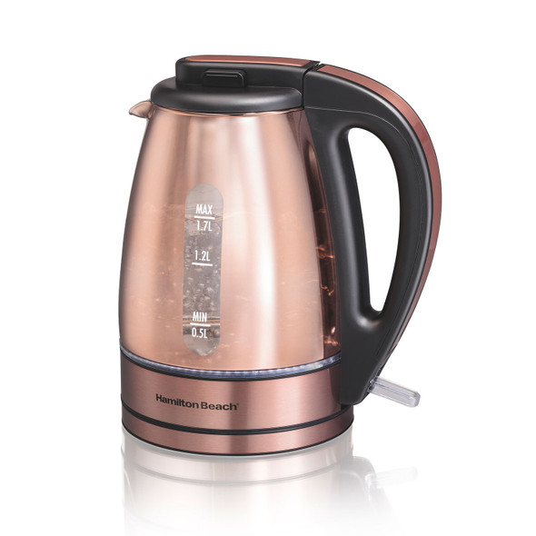 KETTLE HAMILTON BEACH 40866 STAINLESS STEEL COPPER FINISH