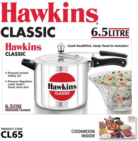 PRESSURE COOKER HAWKINS CLASSIC CL65 6.5LT