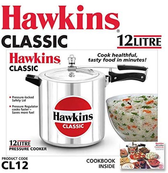 PRESSURE COOKER HAWKINS CLASSIC CL12 12LT