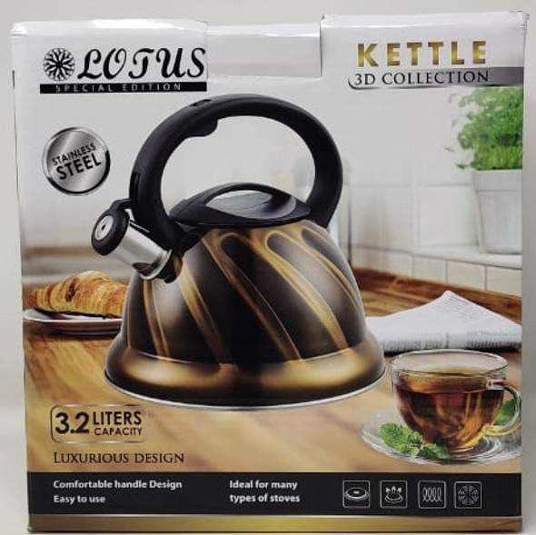 KETTLE LOTUS LT-KT023D 3.2L NON ELECTRIC