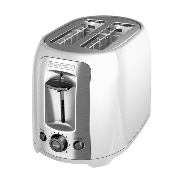TOASTER 2 SLICE BLACK & DECKER TR1278W