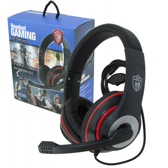 HEADPHONES GM-005 HEADSET GAMING WITH MIC
