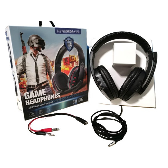 HEADPHONES PGM-002 HEADSET GAMING WITH MIC